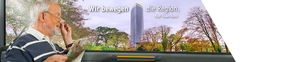 Wir bewegen die Region - Post Tower Bonn